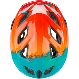 MET Elfo Casque Enfant, orange rayban